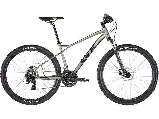 "GT Bicycles Aggressor Expert 27.5"" satin med silver"